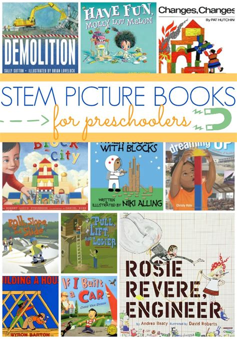 picture books for preschoolers stem picture books for preschool pre k pages