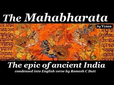 the in the picture book the mahabharata by vyasa audio book greatest