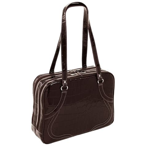 leather womens laptop bag s siamod 174 roma leather laptop tote 158065