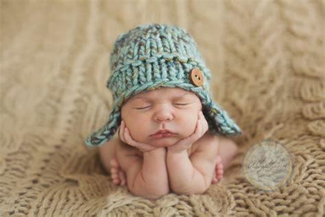 baby boy knitted hats wool knit earflap hat for baby boy beautiful by