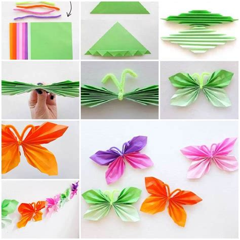 how to make a butterfly origami how to diy easy origami butterfly