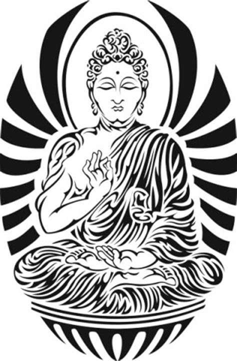 tribal buddha tattoo bouddha