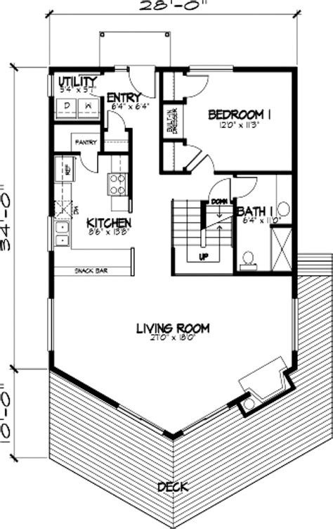 a frame cabin floor plans house plan 57437 familyhomeplans