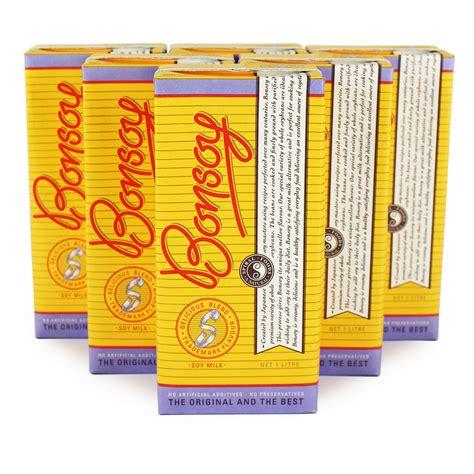 Bonsoy Soy Milk 6x1 Litre   Buy Whole Foods Online Ltd
