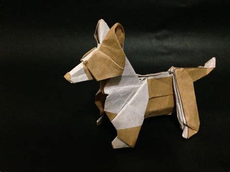 origami bulldog origami dogs doggymom