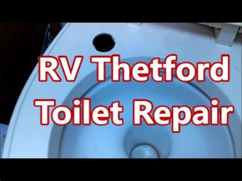 Removing A Thetford Toilet by Rv Thetford Toilet Leak Repair Parts Are Available