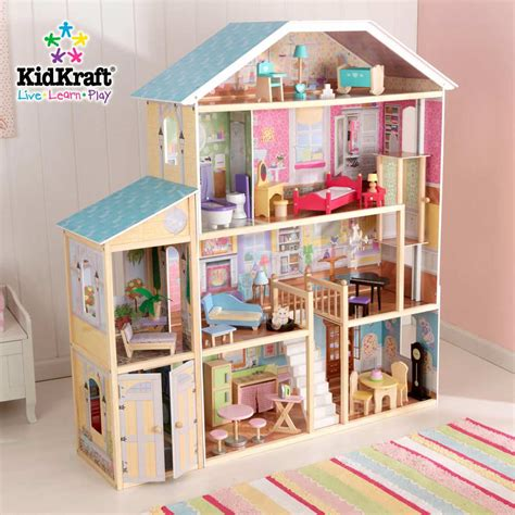 kid craft doll house kidkraft majestic mansion dollhouse 65252 at homelement