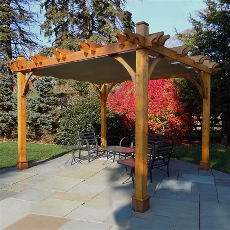lowes pergola canopy triyae backyard canopy lowes various design