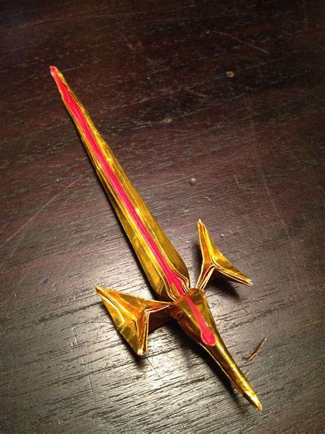 origami blade origami sword origami