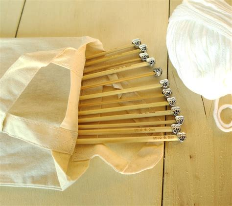 knitting needles set knitting needles six pair set by sproglets kits