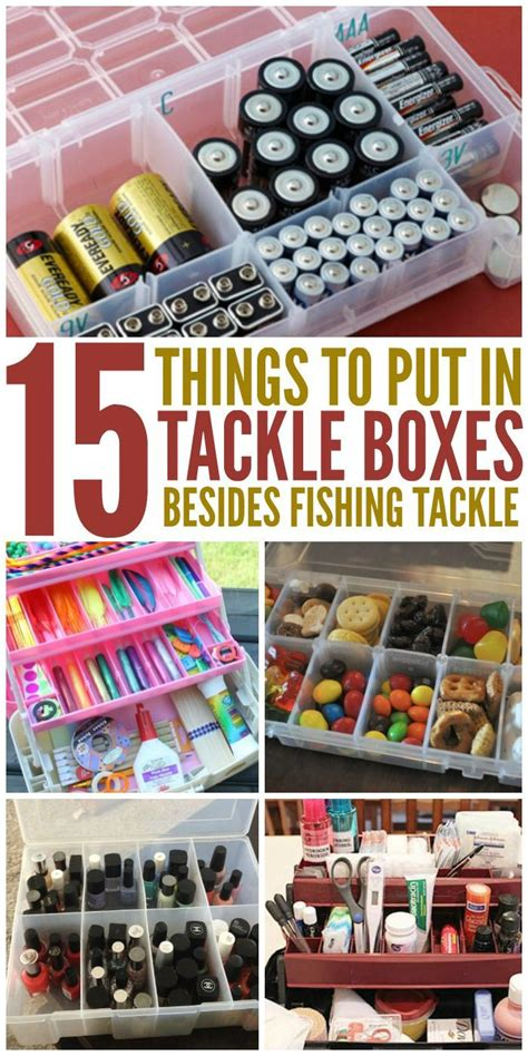 Crazy Home Decor 25 unique fishing tackle box ideas on pinterest fishing