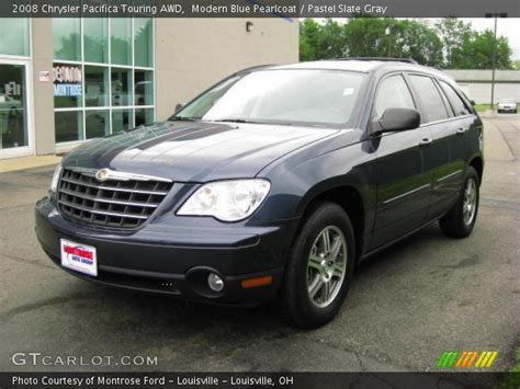 2008 Chrysler Pacifica Touring by Modern Blue Pearlcoat 2008 Chrysler Pacifica Touring Awd
