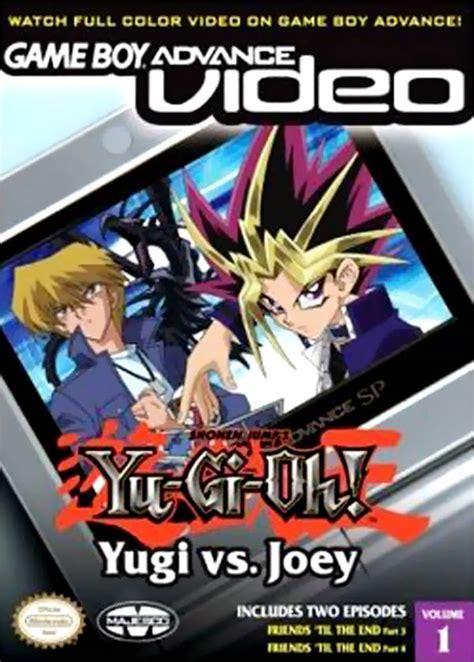 yugioh volumes boy advance yu gi oh yugi vs joey volume
