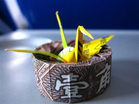 origami gum wrapper crane gum wrapper crane quot nest quot by 50an6xy06r6n on deviantart