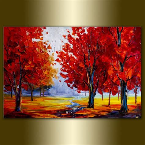 can acrylic paint be used on canvas 152 best trees images on landscape