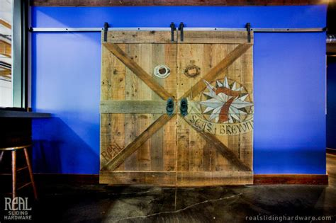 barn door hardware seattle rustic barn doors rustic wine cellar seattle by