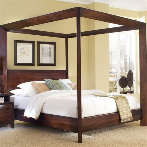 modern canopy beds island chamfer canopy bed modern canopy beds