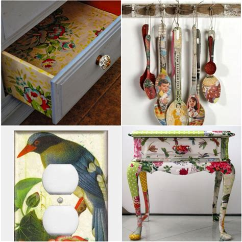 how to use decoupage decoupage medium one step by sloan attic door