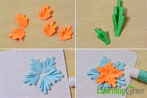 how to make paper flowers for greeting cards easy diy card how to make quilling flower greeting cards
