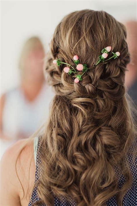 Bridesmaid Hairstyles Half Up Half Down Straight