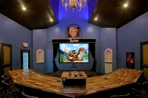 4 Bedroom Cabin Plans quot gatlinburg movie mansion quot luxury theater room cabin