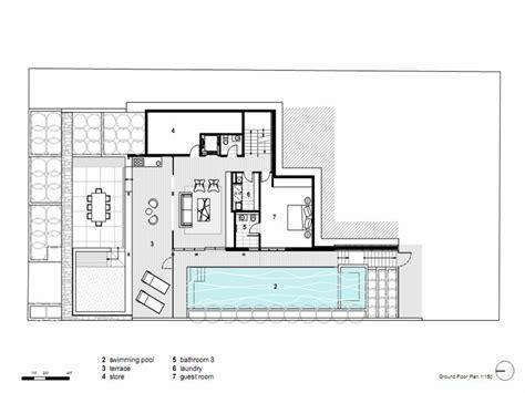 modern contemporary floor plans modern house plans concrete