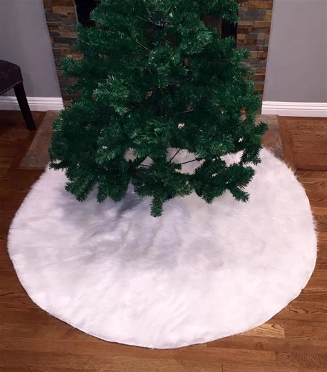 tree skirt white white tree skirt tree skirt faux fur