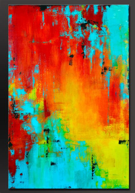 acrylic paint on canvas prism 36 x 24 abstract acrylic painting contemporary