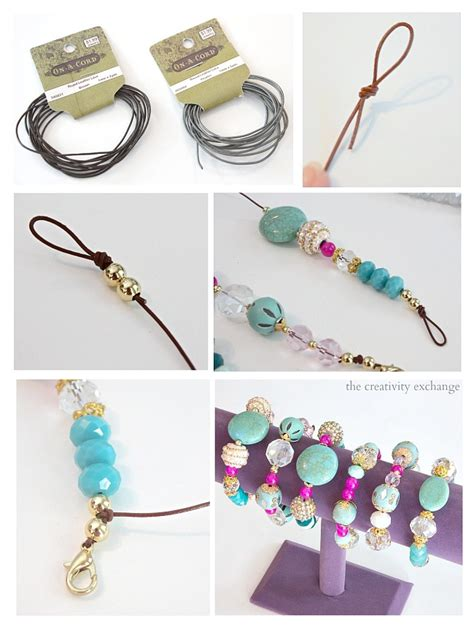 how can i make my own jewelry easy diy knot bracelets and necklaces