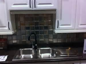 stainless steel kitchen backsplashes stainless steel backsplash tiles home design ideas
