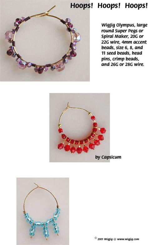 free jewelry supplies hoops hoops hoops wire and earrings pg 1 made