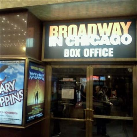 Cadillac Theatre Box Office by Cadillac Palace The Loop Chicago Il United States Yelp