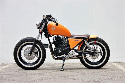 Modifikasi Motor Custom by Kumpulan Modifikasi Motor Khas Bobber Keren