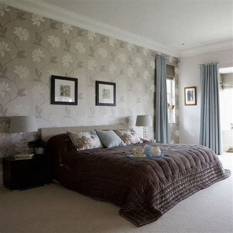 wall paper designs for bedrooms bedrooms with wallpaper and feature walls silk interiors