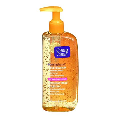 bursting clean and clear buy clean clear morning burst cleanser 240 ml