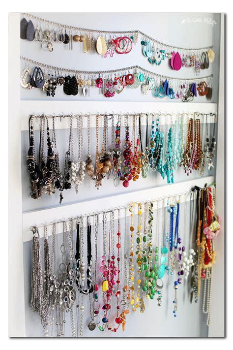 jewelry organization ideas craftionary