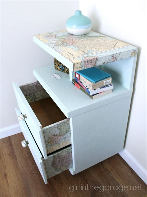 decoupage furniture with maps 16 creative ways to decoupage furniture in the garage 174