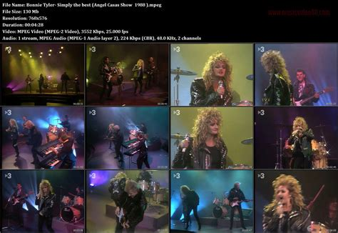 angel casas show bonnie tyler simply the best angel casas show 1988