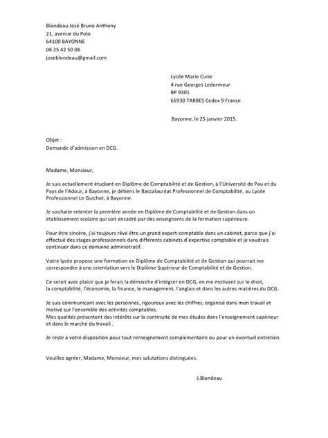 lettre de motivation pour le dcg 224 tarbes pdf par f renou fichier pdf