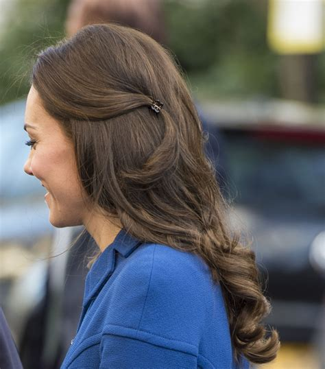 plastic hair kate middleton a plastic claw hair clip and that s