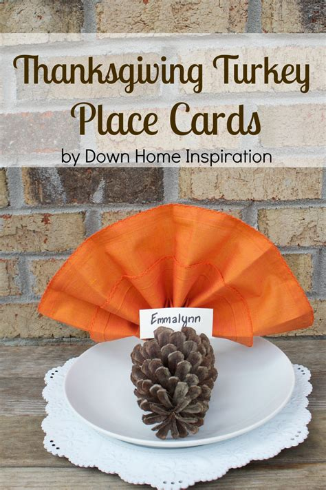 thanksgiving cards to make at home easy and adorable thanksgiving turkey place cards