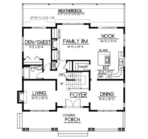 floor plans aflfpw76173 1 story craftsman home with carters hill craftsman home plan 015d 0208 house plans