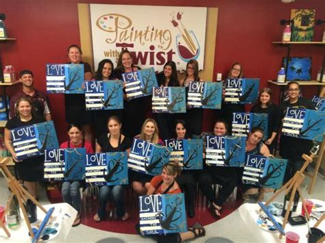paint with a twist daytona 10 things to do near homewood suites daytona