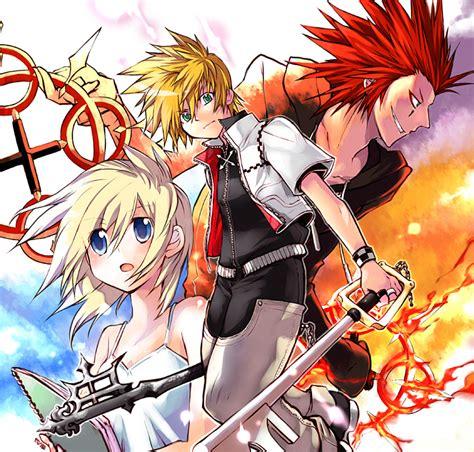 kingdom anime kingdom hearts ii 242313 zerochan