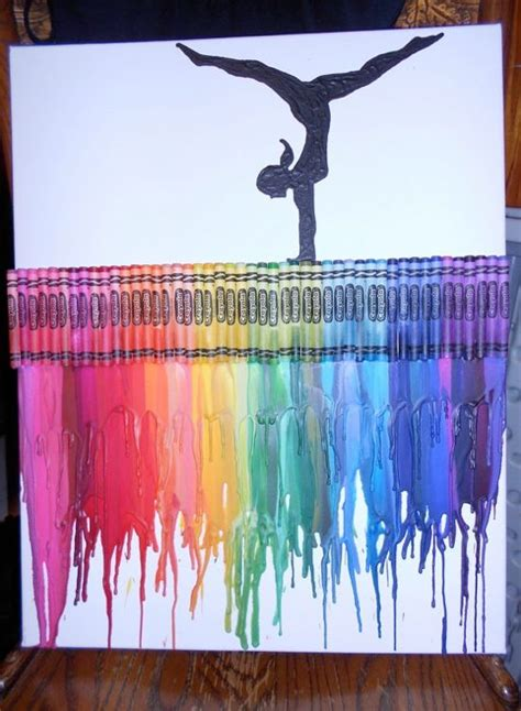 painting craft projects 25 best ideas about melted crayon on
