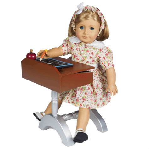 18 inch doll desk 1940 style school desk furniture accessories for 18 quot dolls