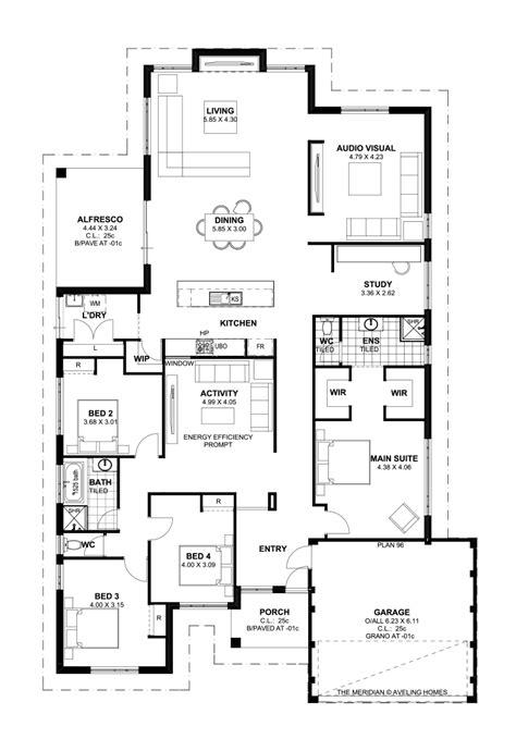 5 bedroom floor plans australia floor plan friday 4 bedroom theatre activity and study