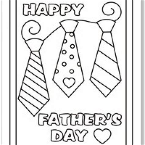 printable fathers day cards for to make free coloring pages fathers day coloring pages free