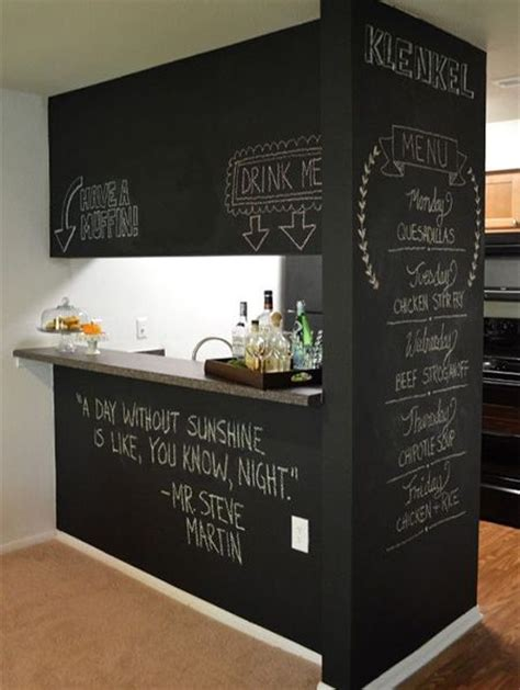 chalkboard paint builders warehouse crafts home and dining rooms on