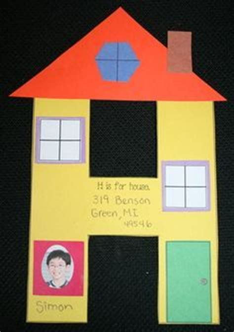 house craft for h is for house craft letter crafts crafts